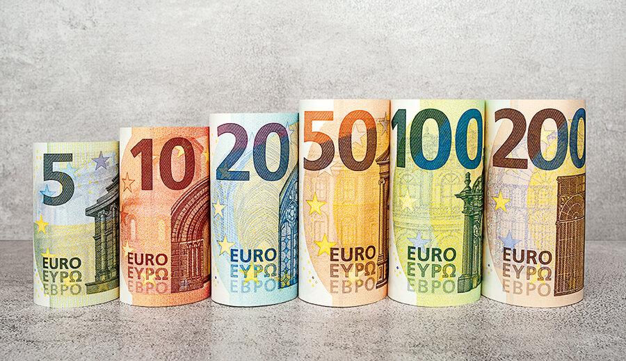 ميزان دستمزد در کشورهای اروپایی