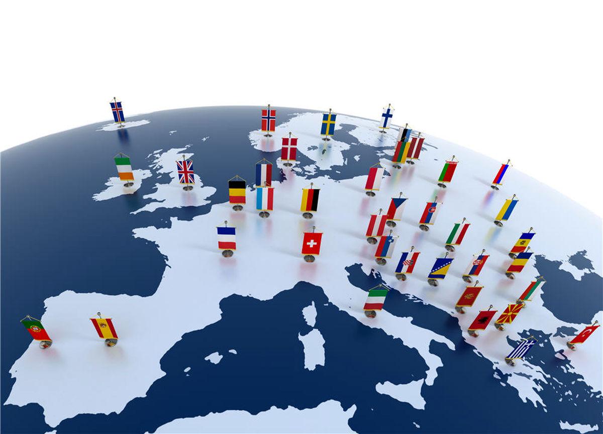 اروپایی ها چند سال کار می کنند؟